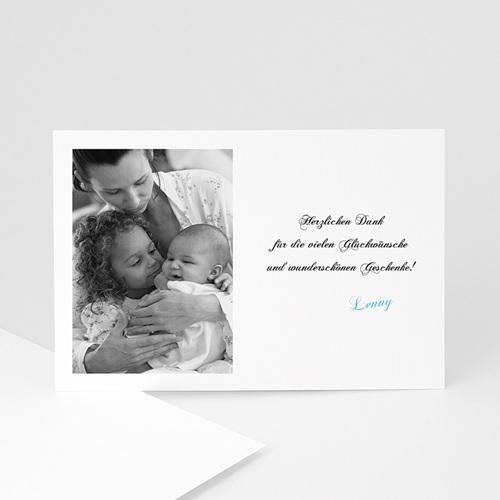 Dankeskarten Geburt Mädchen - Danksagung klassisch 4756