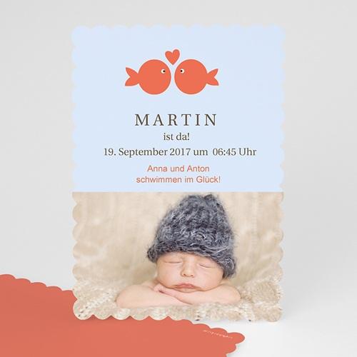 Babykarten für Jungen - Wie ein Fisch im Wasser 47958