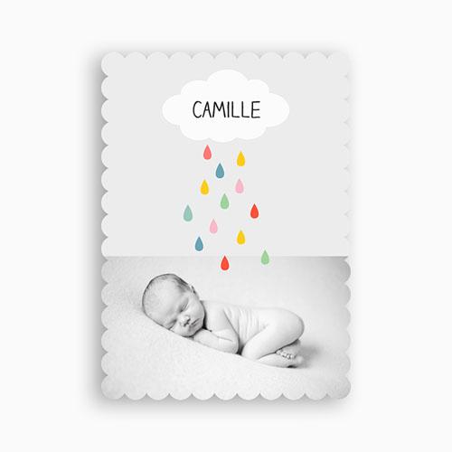 Einladungskarten Taufe Jungen  - Regenbogenfarben 48012