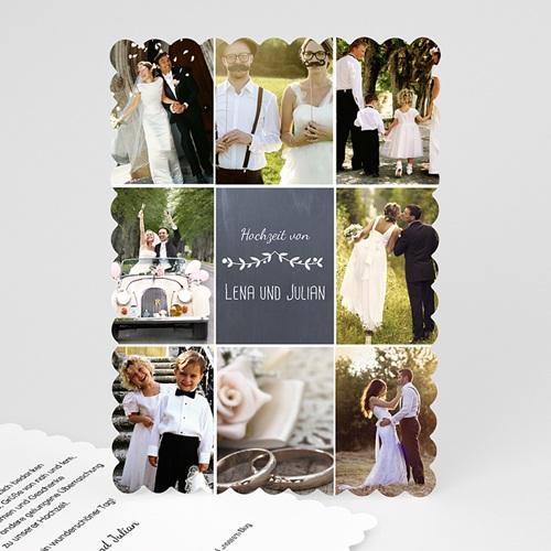 Alle Dankeskarten Hochzeit - Blumenkrone 48060