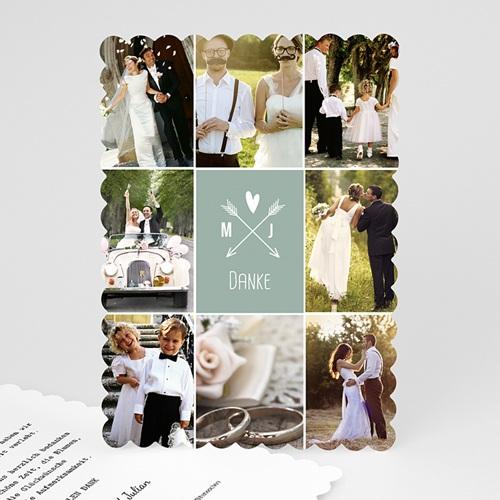 Alle Dankeskarten Hochzeit - Prachtvoll 48084