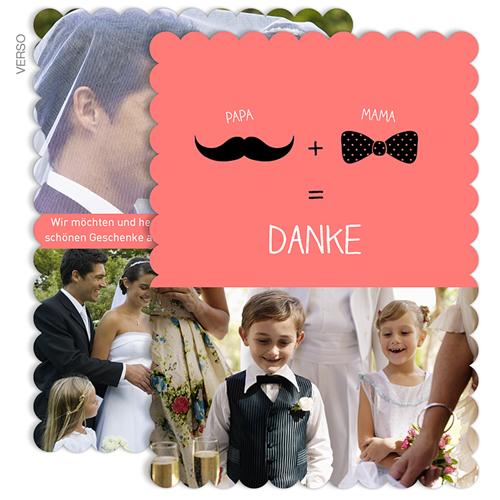 Alle Dankeskarten Hochzeit - Elegant 48108