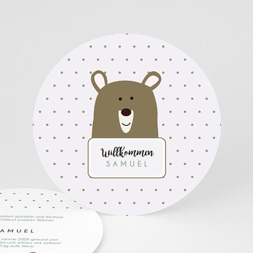 Babykarten für Jungen - Kleiner Bär 48317