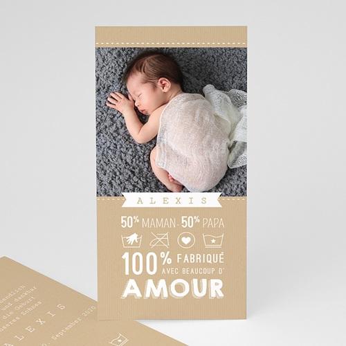 Babykarten für Jungen - 100% Liebe 48323
