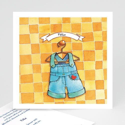 Babykarten für Jungen - Geburtskarte Anna Petrov 4852
