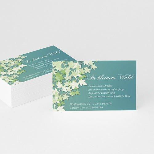 Visitenkarten - Flower 4858