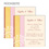 Einlegekarten Hochzeit - Modernes Design 48617 thumb