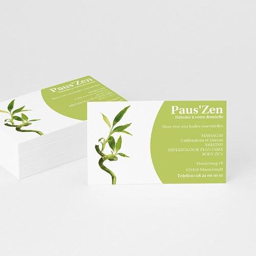 Visitenkarten - Bambus  4876