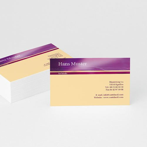 Visitenkarten - Mozart 4880