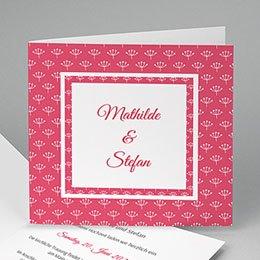Hochzeitseinladungen modern - Flowers - 0