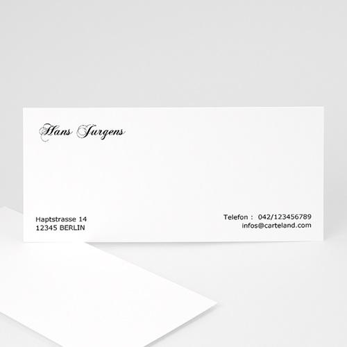 Visitenkarten - Schlicht  4908