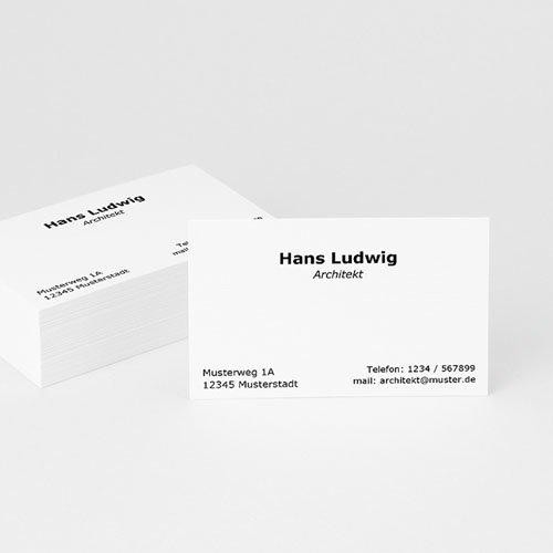 Visitenkarten - De Luxe 4912
