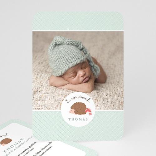 Babykarten für Jungen - Der kleine Igel 49176