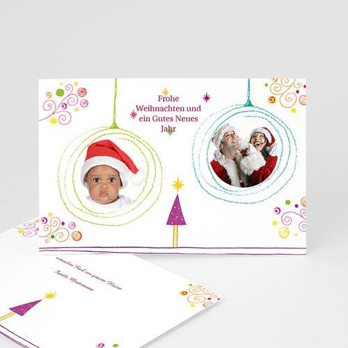 Weihnachtskarten - Prickelnd  4928
