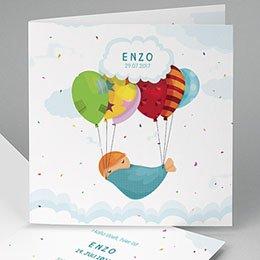 Babykarten für Jungen - Ballon - 0