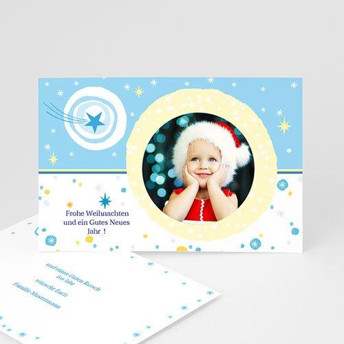 Weihnachtskarten - Schneelandschaft 4936