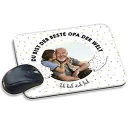 Foto-Mousepad - Opa Bär - 0