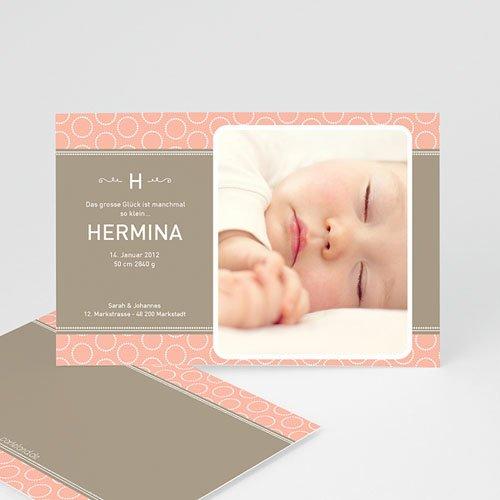 Geburtskarten für Mädchen - Lovely 499