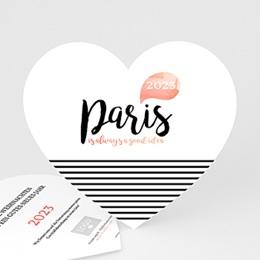 Weihnachtskarten - Christmas Paris - 0