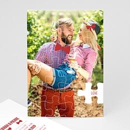 Hochzeitseinladungen modern - Puzzle - 0
