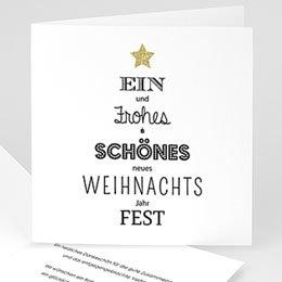 Weihnachtskarten - Best wishes - 0