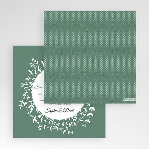 Hochzeitskarten Quadratisch - Diadem 50353