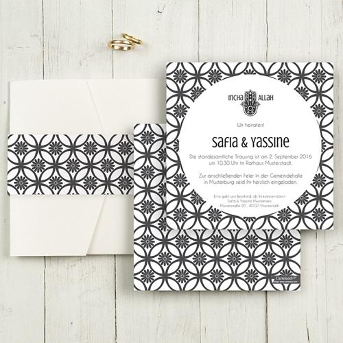 Hochzeitskarten Quadratisch - Rana 50365