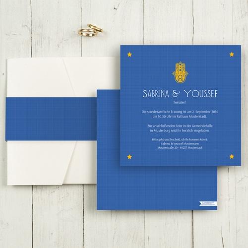 Hochzeitskarten Quadratisch - Yasmin 50373