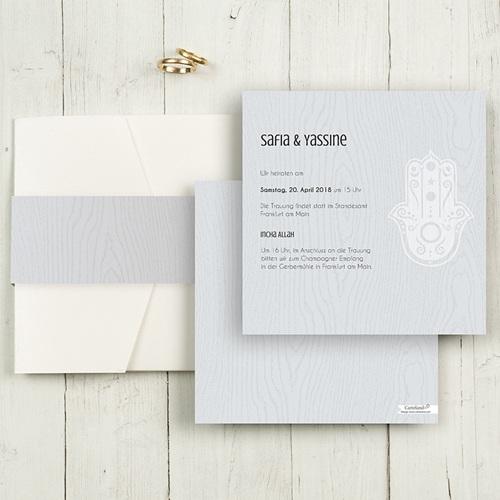 Hochzeitskarten Quadratisch - Tamina 50381