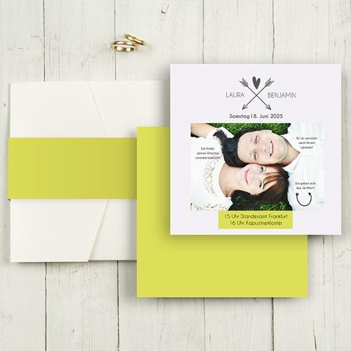 Hochzeitskarten Quadratisch - Ritual 50387