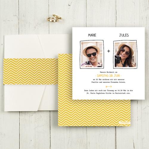 Hochzeitskarten Quadratisch - Love 50401