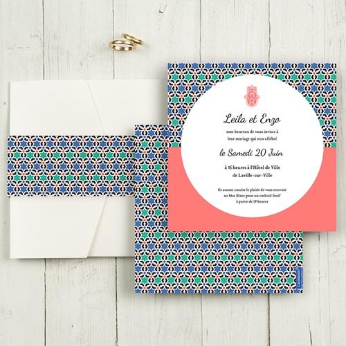 Hochzeitskarten Quadratisch - Alhambra 50417
