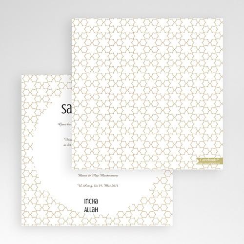 Hochzeitskarten Quadratisch - Fatima 50440
