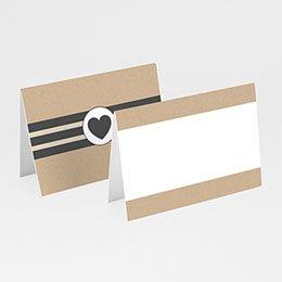 Tischkarten Hochzeit - Kraft und Wellen - 0