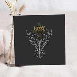 Weihnachtskarten - Hirsch - 0