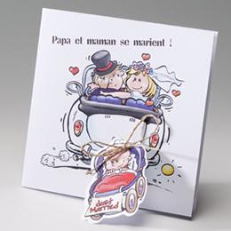 Hochzeitseinladungen traditionell - Mit Baby - 2