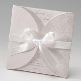 Hochzeitseinladungen traditionell - Korsett - 1
