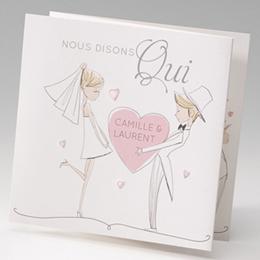 Hochzeitseinladungen traditionell - Charme - 2