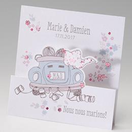 Hochzeitseinladungen traditionell - Frisch verheiratet - 2