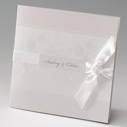 Hochzeitseinladungen traditionell - Elegante Einladung - 2