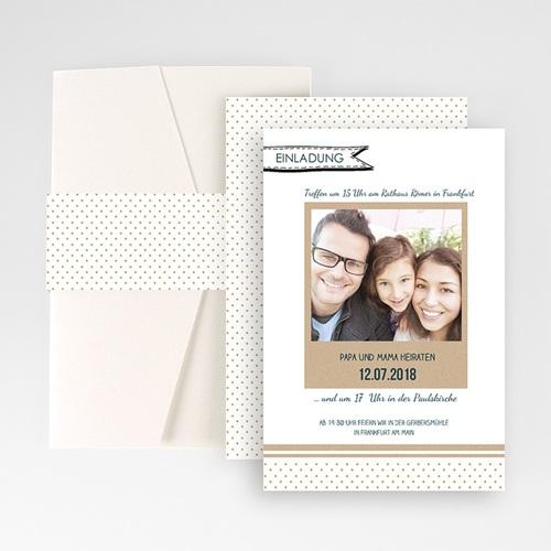 Hochzeitskarten Querformat - Detailverliebt 50875