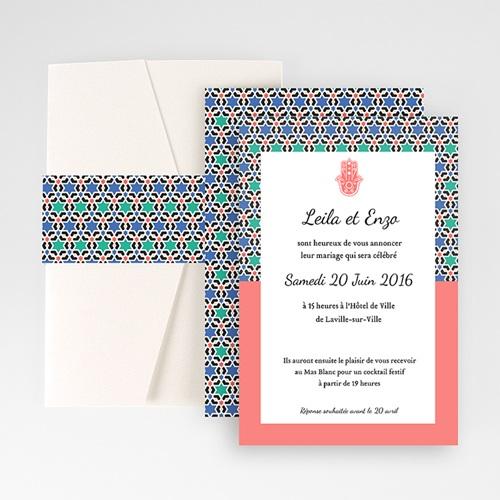 Hochzeitskarten Querformat - Alhambra 50889