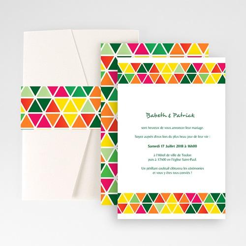 Hochzeitskarten Querformat - Tropical 50909