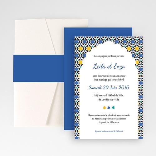 Hochzeitskarten Querformat - Marrakesch 50935