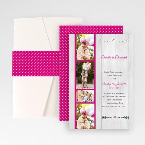 Hochzeitskarten Querformat - Wir trauen uns 50967