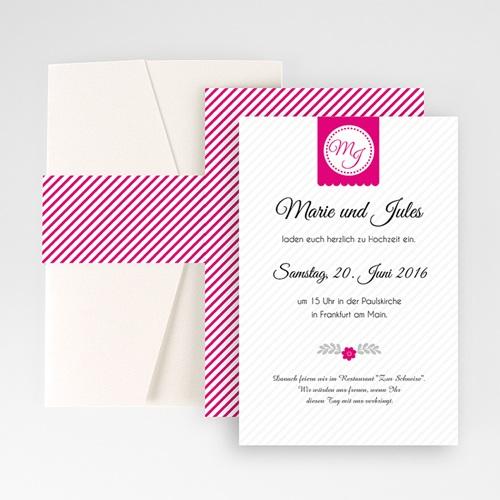 Hochzeitskarten Querformat - Just us 50969