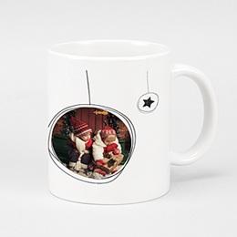 Fototassen - Weihnachtskugel & Sterne - 0