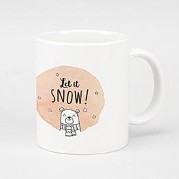 Fototassen - Let it snow - 0