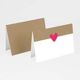 Tischkarten Hochzeit - Love Story - 0