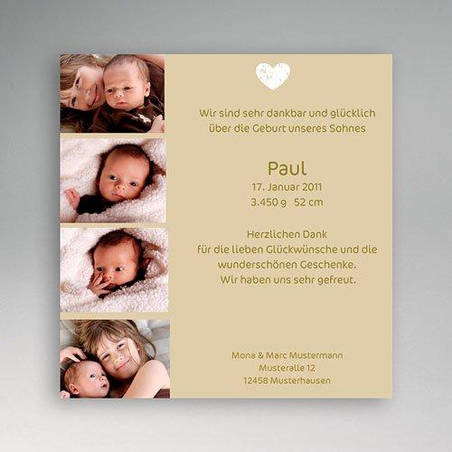 Geburtskarten für Mädchen - Miniaturfotos 2 5459